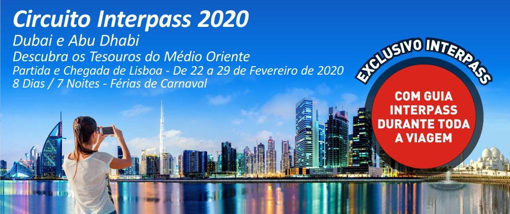 CIRCUITO INTERPASS 2020 - DUBAI ABU DHABI