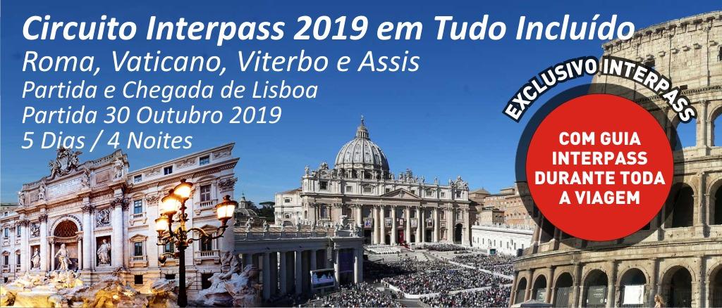Circuito Interpass - Roma Vaticano Viterbo e Assis
