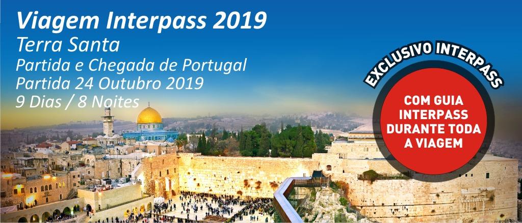 VIAGEM INTERPASS 2019 - TERRA SANTA