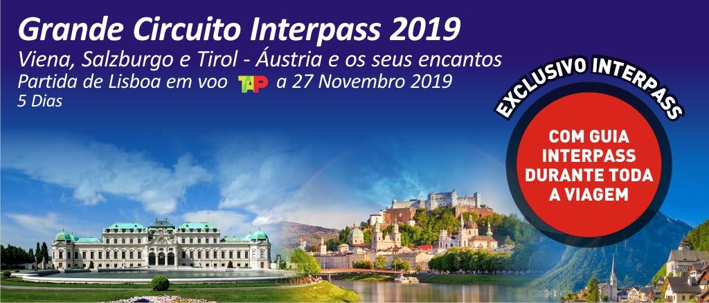 Grande Circuito Interpass 2019 - Viena, Salzburgo e Tirol - Áustria e seus encantos